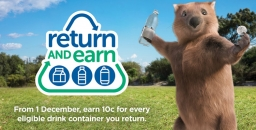 Container Deposit Scheme is now up and Running